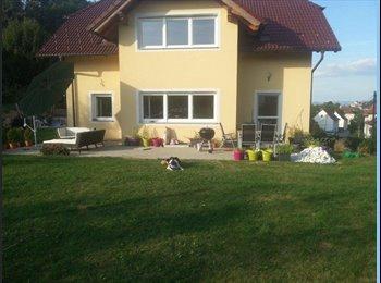 EasyWG AT - schönes Zimmer in neuem Einfamilienhaus mit Garten - Ebelsberg, Linz - 350 € pm