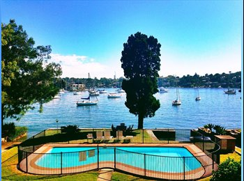 EasyRoommate AU - Double Room Available in Large Apartment with View - Drummoyne, Sydney - $225 pw