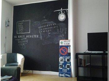 Appartager BE - Colocation  Ixelles! - Ixelles-Elsene, Bruxelles-Brussel - 385 € / Mois