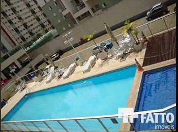 EasyQuarto BR - Vaga em quarto - Kitnet em Águas Claras - Aguas Claras, Brasília - R$ 600 Por mês