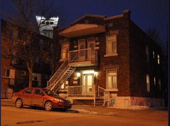 EasyRoommate CA - Chambre tout inclus dans colocation - Mercier - Hochelaga - Maisonneuve, Montréal - $500 pcm
