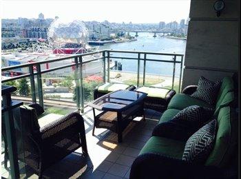 Vancouver false creek apartment room