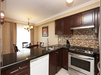 Spacious master room with washroom for a professio
