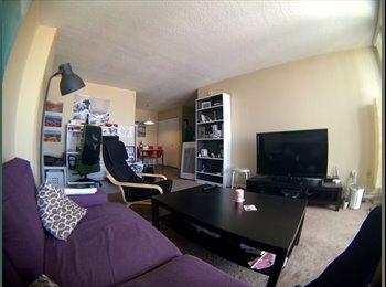 EasyRoommate CA - Room for rent in 2 bedroom condo downtown - Calgary, Calgary - $700 pcm