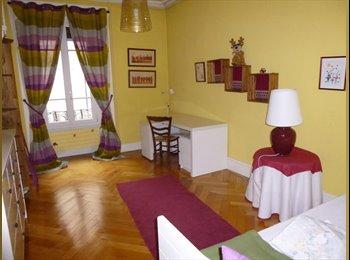 EasyWG CH - Chambre à louer au centre ville, Eaux-Vives - Eaux-Vives, Genève / Genf - 1100 CHF / Mois