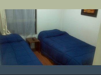 Departamento de 3 dormitorios para 5 personas Stgo