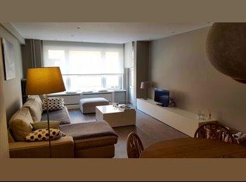 EasyKot EK - Volledig ingerichte slaapkamer in vernieuwd 3-slaapkamer appartement - Centrum, Leuven-Louvain - € 430 p.m.