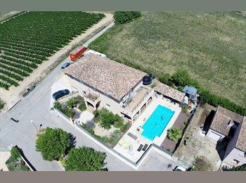 Appartager FR - villa piscine proche Montpellier, cap d'Agde - Juvignac, Montpellier - 400 € / Mois