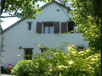 Appartager FR - Chambre ds maison. Cuis, SdB communes. Jard+park - Jurançon, Pau - 300 € / Mois