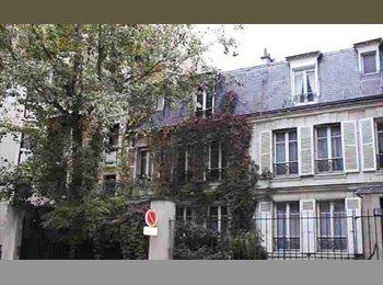 Appartager FR - Chbre ds Maison avec jardin - Levallois-Perret, Paris - Ile De France - 600 € / Mois