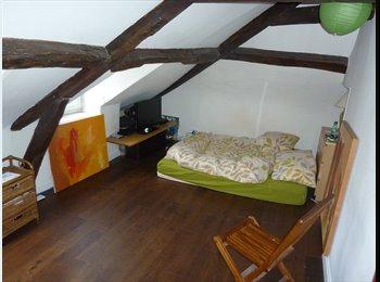 chambre calme dans petit duplex sur cour.