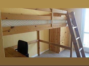 chambre meublée en colocation