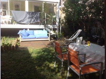 Chambre meublé avec jardin