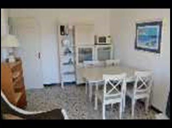 Appartager FR -  appartement 3p  meublé vue mer antibes juan les p - Juan-les-Pins, Cannes - 500 € / Mois