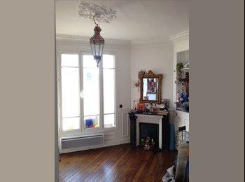 Appartager FR - Coôocation dans un charmant appartement 3 pièces. - Romainville, Paris - Ile De France - 600 € / Mois