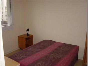 Appartager FR - Chambre dans T3 - Hors Week-end - Idéal Etudiant - 13ème Arrondissement, Paris - Ile De France - 470 € / Mois