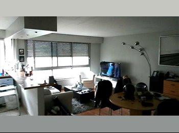 loue chambre meublée de 15m2 dans T3 de 80m2
