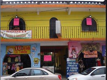 CompartoDepa MX - Pension en Cordoba, para chavas y chavos, depa. - Córdoba, Córdoba - MX$1,000 por mes