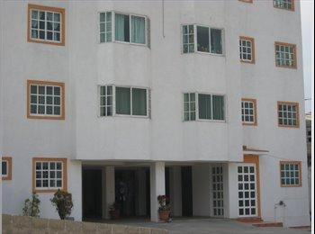 CompartoDepa MX - rento 2  habitaciones amuebladas - Cuajimalpa de Morelos, DF - MX$4,300 por mes