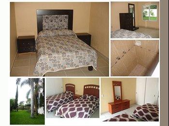 CompartoDepa MX - HabitacionesCdGranja, EstudiantesUP Profesionistas - Zapopan, Guadalajara - MX$3,500 por mes