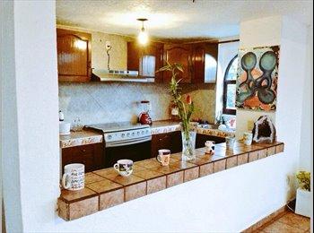 CompartoDepa MX - Rento habitación con baño en bonito depa con todos los servicios - Xochimilco, DF - MX$3,500 por mes