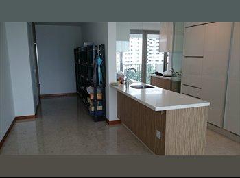 Condo Junior Master Bedroom for Rent at Braddell