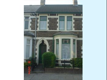 EasyRoommate UK -  2 girls for shared Student House for 5  , Cathays - Cathays, Cardiff - £245 pcm