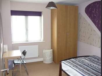 EasyRoommate UK - Double room to rent in a fab flat - Thurmaston, Leicester - £300 pcm