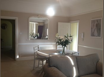 Beatifically decorated flat, with a double room available.
