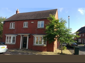 EasyRoommate UK - COTON MEADOWS - Rugby, Rugby - £400 pcm