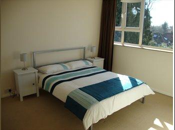 EasyRoommate UK - Lovely large double furnished room available - Addlestone, North Surrey - £450 pcm