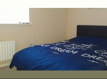 EasyRoommate UK - double room close to the town centre with off road - Shrewsbury, Shrewsbury - £375 pcm