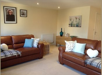 EasyRoommate UK - LUXURY 4 BED LARGE LOUNGE Near M4 & Foster Wheeler - Shinfield, Reading - £580 pcm