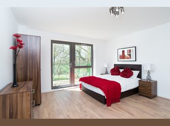 EasyRoommate UK - Type B, Spring Apartments- PARKSIDE QUARTER E14 - Canary Wharf, London - £900 pcm