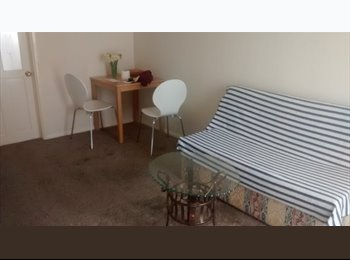 Double room in furnished flat, single professional