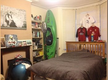 EasyRoommate UK - 'Lovely bright, spacious double bedroom available' - Horfield, Bristol - £390 pcm