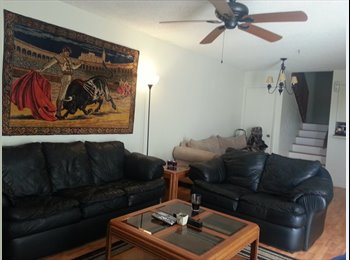 EasyRoommate US - Room w/ private bath, walk in closet and balcony! - Delray Beach, Ft Lauderdale Area - $750 pcm