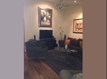 Single, 100 sqf room in an upscale house