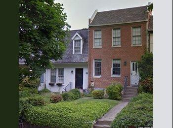 EasyRoommate US - 1 Lrg Bedroom // Georgetown House // HUGE Backyard - Georgetown, Washington DC - $1,350 pcm