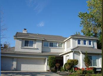 EasyRoommate US - Great City & house.  Happy safe environment for U. - Folsom, Sacramento Area - $600 pcm