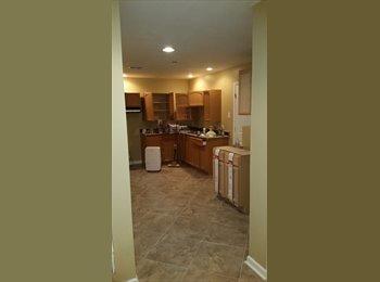Full basement w/ washer & dryer