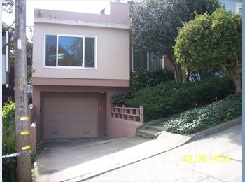 Full house shared with 1 roommate (noe valley)