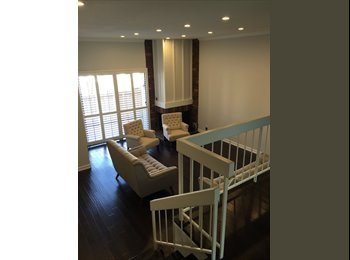 Furnished Master Bedroom in Big 3-Level Townhouse