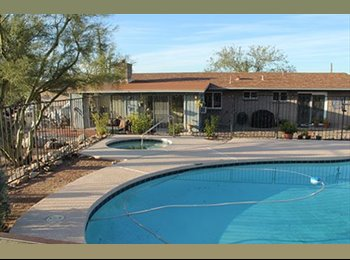 EasyRoommate US - House share in Catalina foothills - Tucson, Tucson - $570 pcm