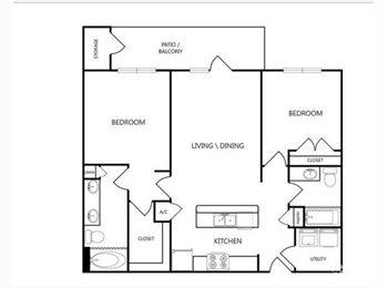 EasyRoommate US - Georgetown/Round Rock Apartment - North Austin, Austin - $550 pcm