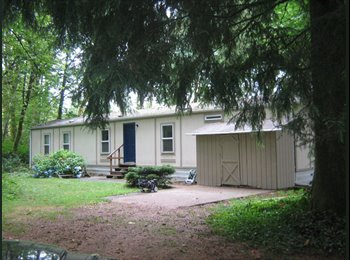 EasyRoommate US - FURNISHED HOME SHARED ON 5 ACRES - Olympia, Olympia - $875 pcm