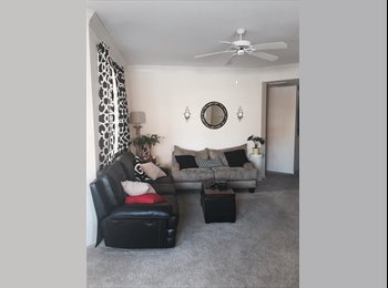 Large Room, bathroom, attached garage for your car