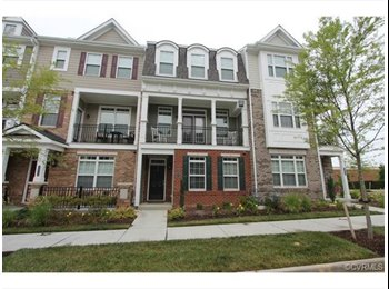 EasyRoommate US - One-bedroom on suite in luxury townhouse - Richmond West End, Richmond - $900 pcm