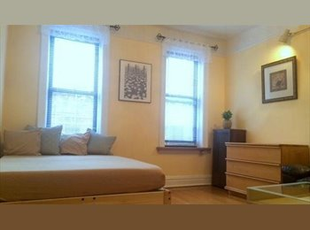 Large, sunny, fully furnished room