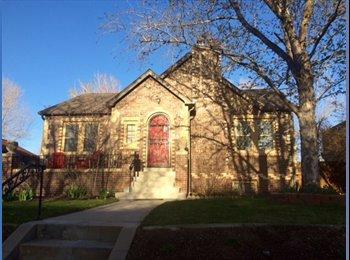 EasyRoommate US - MUST SEE! Fully Furnished Basement for Rent in the - Central Denver, Denver - $1,199 pcm